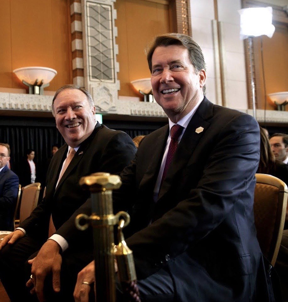 Image for U.S. Senate Candidate Hagerty Silent on Cover Up  by Ambassador Hagerty's Boss